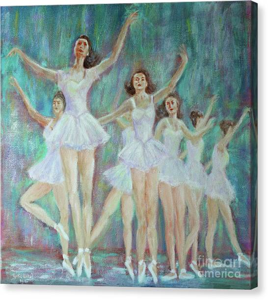 Dance Rehearsal Canvas Print