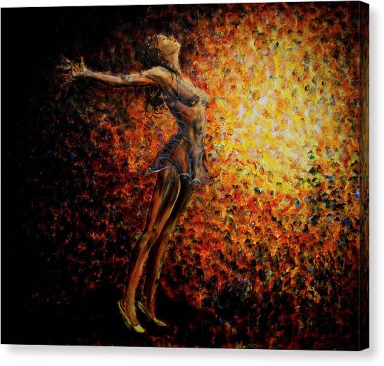 Dancer 03 Canvas Print