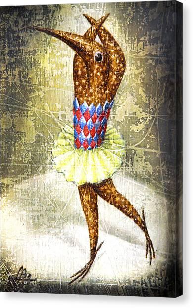 Dancer 3 Canvas Print by Lolita Bronzini