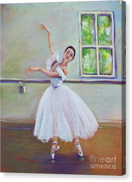 Dancer Canvas Print by Joyce A Guariglia