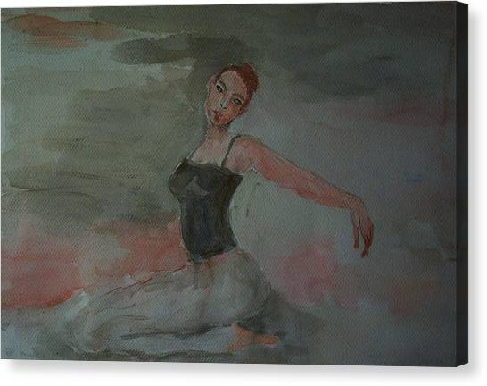 Dancer Canvas Print by Liliana Andrei