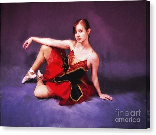 Dancer No. 6  ... Canvas Print
