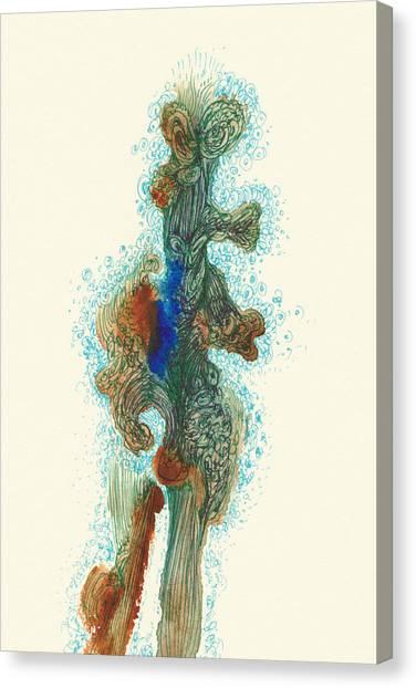 Dancer- #ss14dw030 Canvas Print by Satomi Sugimoto