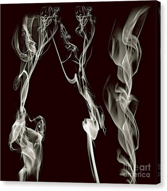 Dancing Apparitions Canvas Print