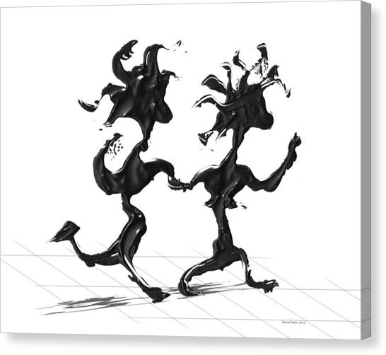 Dancing Couple 7 Canvas Print