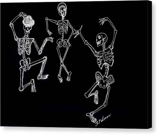 Dancing In The Dark Canvas Print