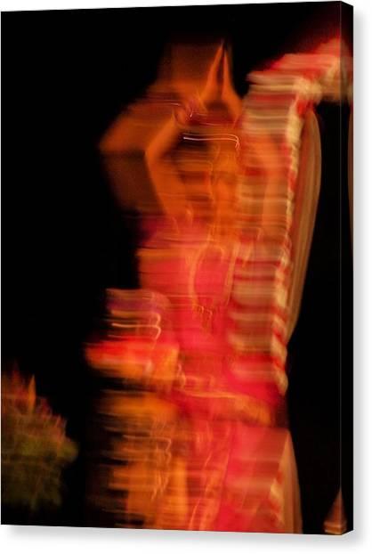 Dancing Mirage Canvas Print by Vijay Sharon Govender