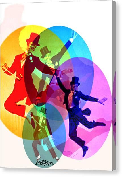Dancing On Air Canvas Print