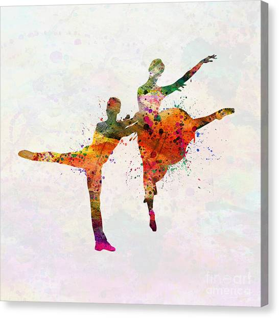 Tap Dance Canvas Print - Dancing Queen by Mark Ashkenazi