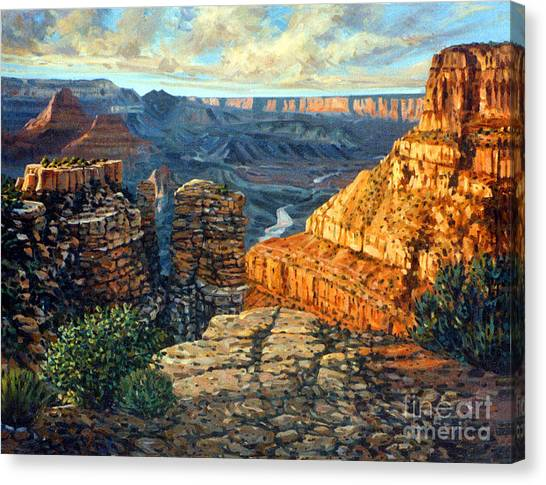 Grand Canyon Canvas Print - Dancing Rock by Donald Maier