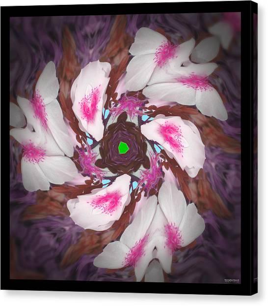 Dancing Rose Petals 57 Canvas Print
