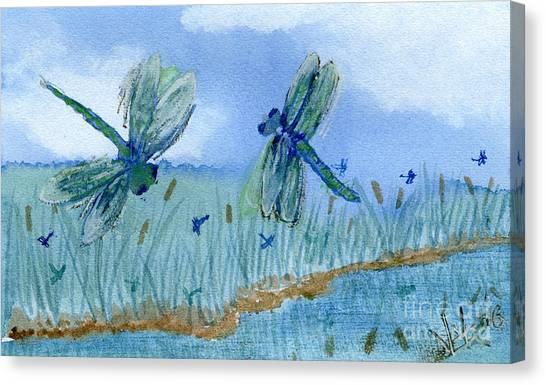 Dancing Skies Canvas Print