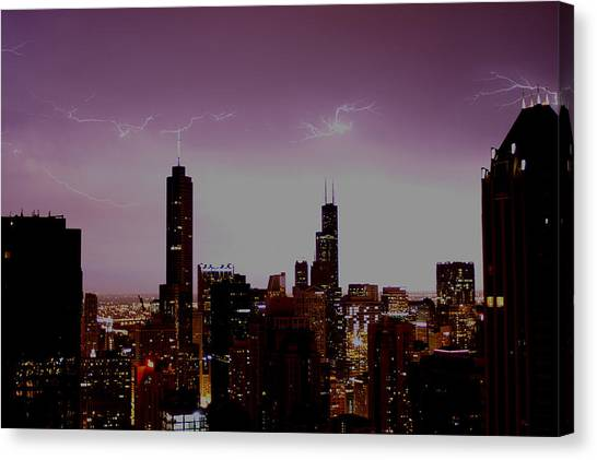 Dancing Sky Canvas Print