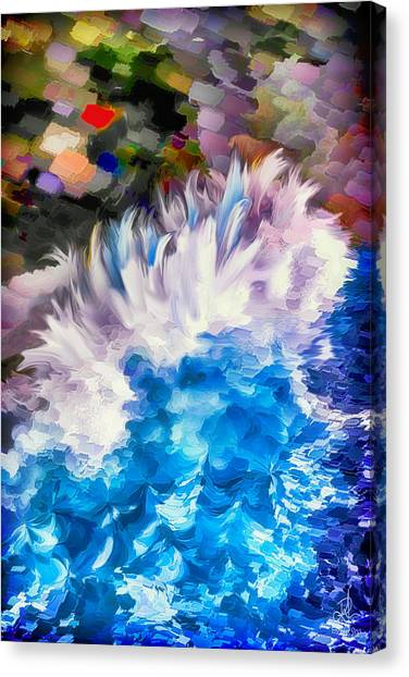 Dancing Swells Canvas Print