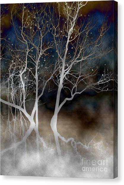Dancing Tree Altered Canvas Print