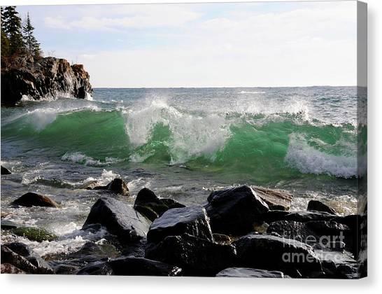 Dancing Waves Canvas Print