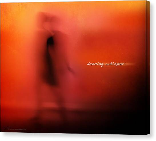 Dancing Whisper Canvas Print