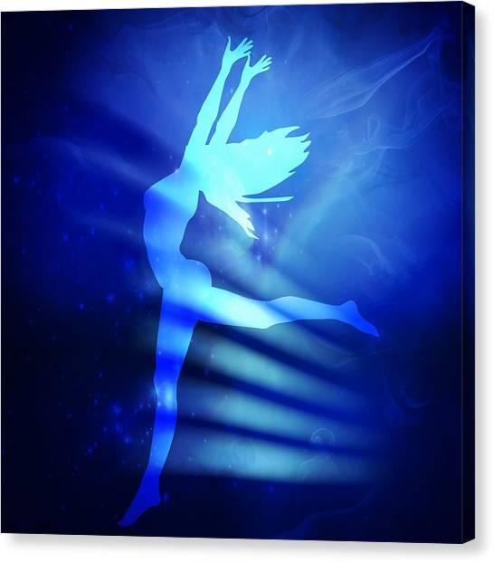 Dancing Woman Canvas Print