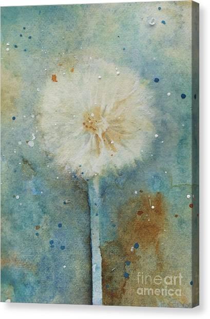 Dandelion Clock 2 Canvas Print
