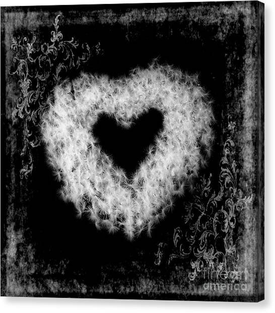 Dandelion Love Canvas Print