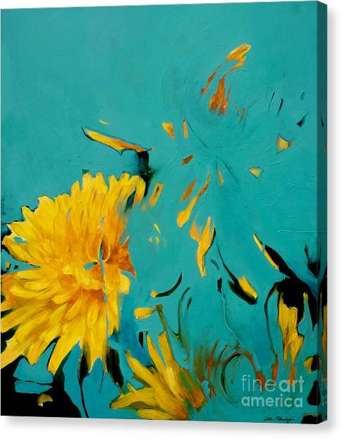 Dandelion Summer Canvas Print