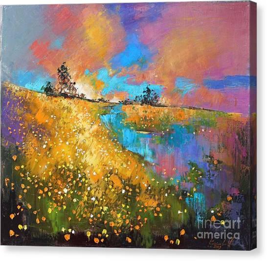 Dandelion Wine Canvas Print