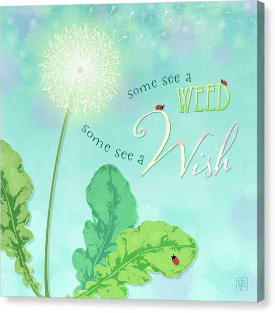 Dandelion Wish Canvas Print