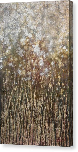 Dandelions Canvas Print by Steve Ellis