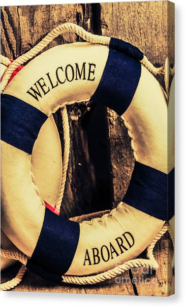 Marine Life Canvas Print - Dangers From Nautical Old by Jorgo Photography - Wall Art Gallery