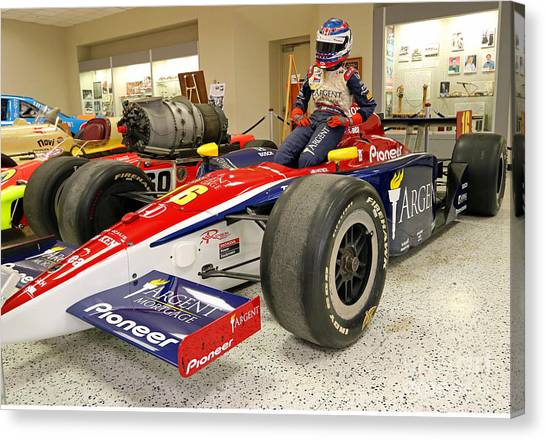 Danica Patrick Canvas Print - Danica Patrick Rookie Indy Car by Steve Gass