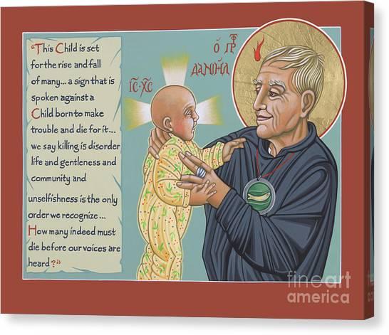 Holy Prophet Daniel Berrigan 291  Canvas Print