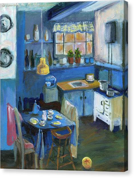 Danish Kitchen Canvas Print
