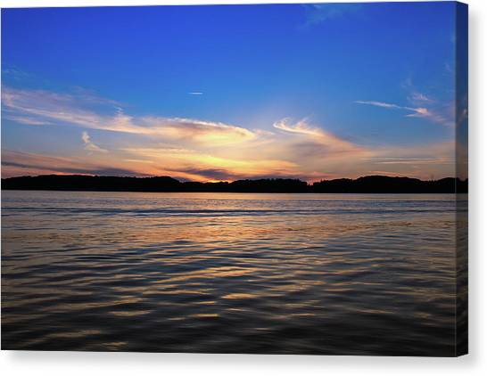 Canvas Print - Danish Sunset by Jo Jackson