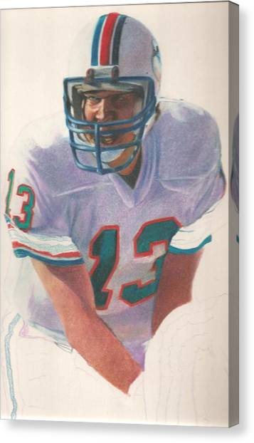 John Elway Canvas Print - Danny by Darren Chilton