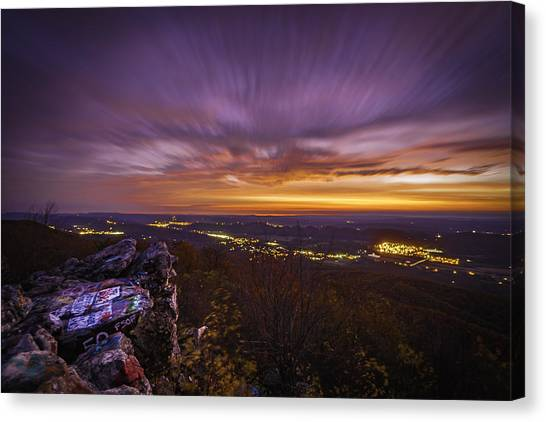 Dan's Rock Canvas Print