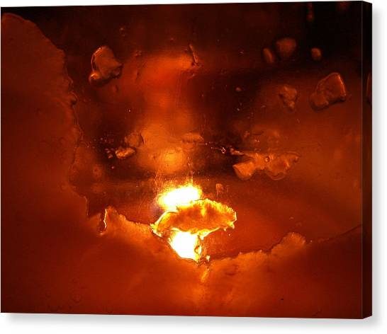 Venus Doom Canvas Print - Dante's Inferno Photos Fifteen by Sean Gautreaux