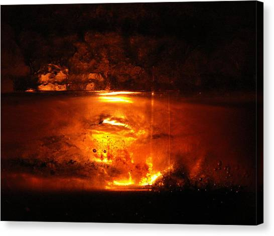 Venus Doom Canvas Print - Dante's Inferno Photos Seventeen by Sean Gautreaux