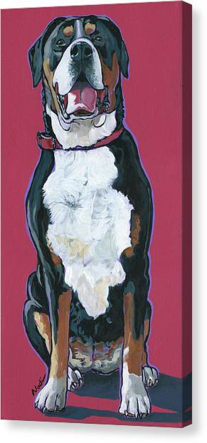 Canvas Print - Darby by Nadi Spencer