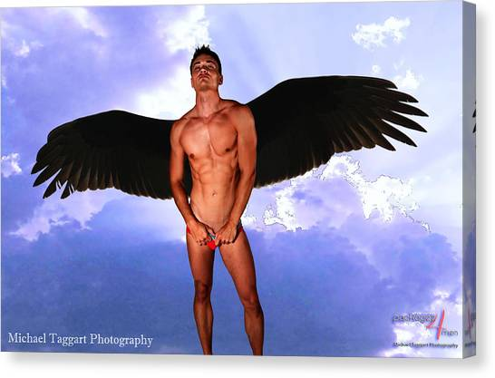 Dark Angel Canvas Print