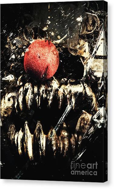 Gothic Art Canvas Print - Dark Carnival Art by Jorgo Photography - Wall Art Gallery