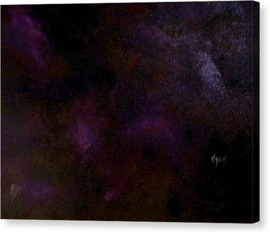 Dark Colors Canvas Print by Guillermo Mason