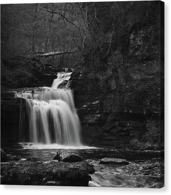 Cliff Burton Canvas Print - Dark Falls by Chris Dale