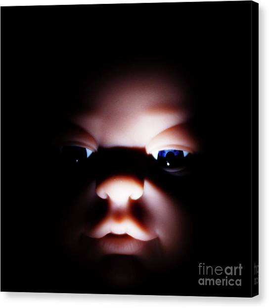 Dark Innocence Canvas Print by Lewis Bonner