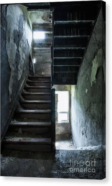 Urban Decay Canvas Print - Dark Intervals by Evelina Kremsdorf