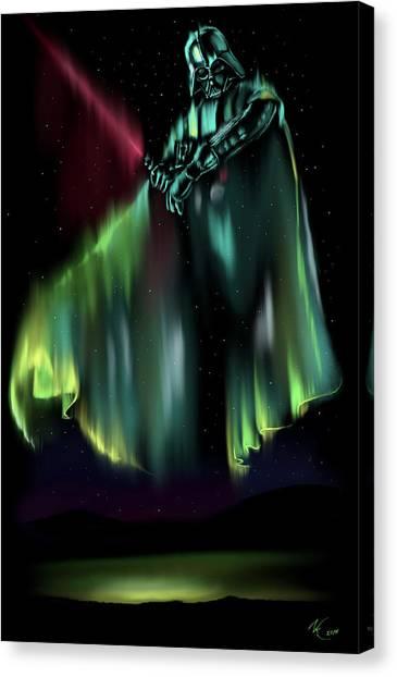 Dark Light Canvas Print
