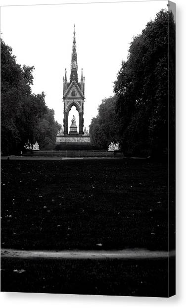 Dark Memorial Canvas Print by Jez C Self