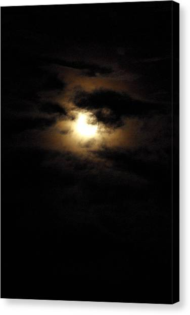 Canvas Print - Dark Moon by Cindy Johnston