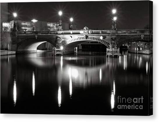 Dark Nocturnal Sound Of Silence Canvas Print