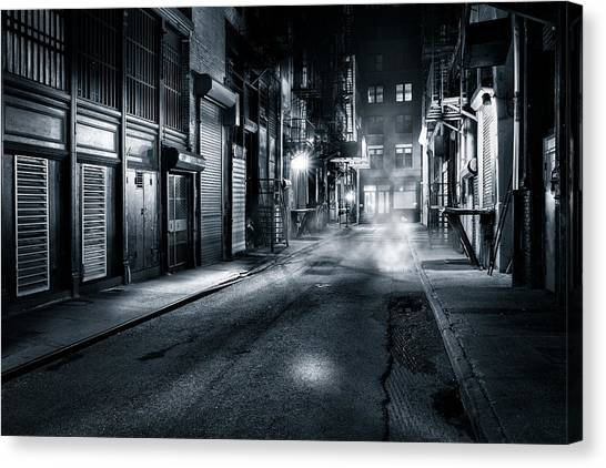 Dark Nyc Canvas Print