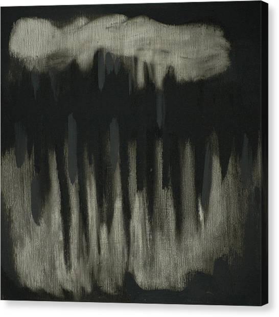 Dark Showers Canvas Print by Liz Maxfield